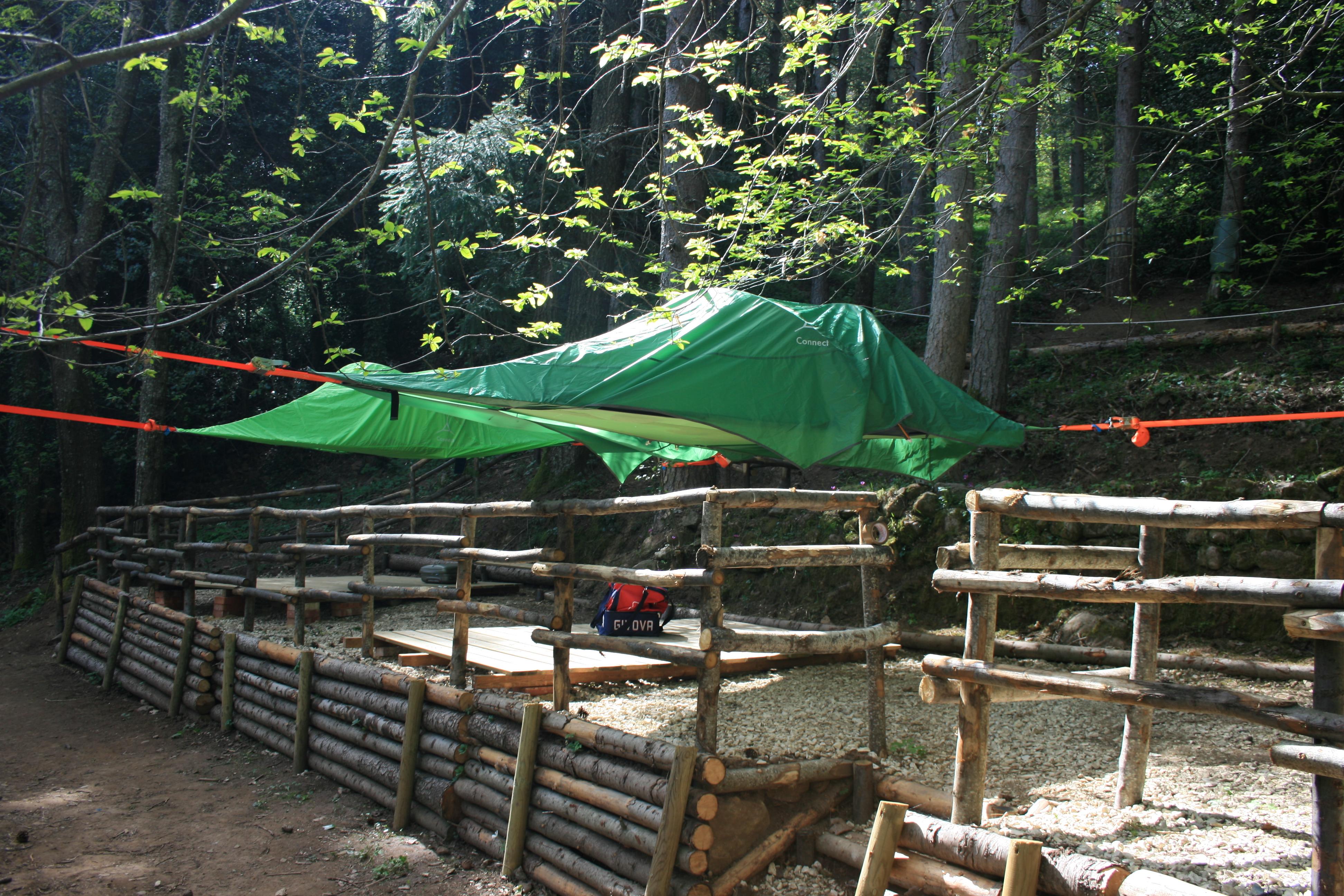 Tenda Semi Sospesa a 1,5m